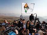 Во время поездки в Иорданскую долину. 2 января 2014 года