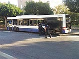 Фото с места попытки автобусного теракта. Бат-Ям, 22 декабря 2013 года