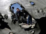На месте происшествия. Дир эль-Балах. Сектор Газы. 9 февраля 2014 года