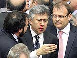 Депутаты турецкого парламента. 15.02.2014