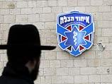 """Около офиса благотворительной организации """"Хацала"""" в Иерусалиме"""