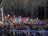Демонстрация в Мадриде. 22.03.2014