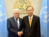 Махмуд Аббас и генсек ООН Пан Ги Мун. Сентябрь 2013 года