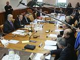 Заседание израильского правительства в Иерусалиме