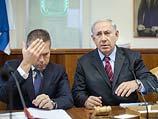 Гилад Эрдан и Биньямин Нетаниягу на заседании правительства 4 мая 2014 года