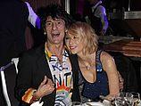 Ронни Вуд и Екатерина Иванова в 2009 году