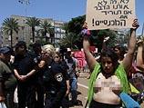 """""""Марш шлюх"""" в Тель-Авиве. 9 мая 2014 года"""
