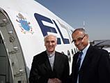 """На самолет """"Эль-Аля"""", который доставит Папу Римского в Израиль, нанесен герб Ватикана"""