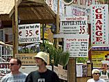 За 13 лет число туристов в Эйлате сократилось на 42%