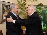 Реувен Ривлин и Биньямин Нетаниягу 11 июня 2014 года