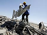 На месте авиаудара. Газа, 15 июня 2014 года