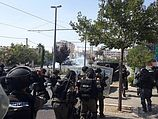 Беспорядки в Шуафате 04.07.2014