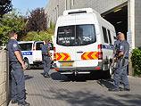 Доставка подозреваемых в суд Петах-Тиквы. 6 июля 2014 года
