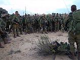 Израильские военные входят в сектор Газы