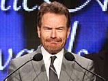 Брайан Крэнстон на церемонии вручения премии Ассоциации телевизионных критиков Америки.  19 июля 2014 года