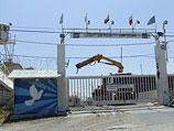База UNDOF на границе Израиля и Сирии
