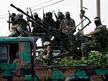 Боевики ХАМАС на параде. Май 2014 года