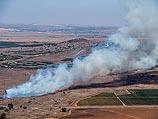 Район Кунейтры 27 августа 2014 года, около границы с Израилем