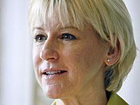 Министр иностранных дел Швеции Маргот Вальстром