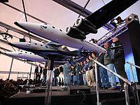 В Калифорнии разбился частный космический корабль SpaceShipTwo
