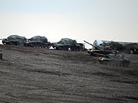 """Войска """"Першемега"""" возле Кобани"""