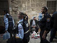 В Иерусалиме арабы напали на евреев, два человека пострадали