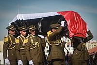 Похороны Зиада Абу Эйна. Рамалла, 11 декабря 2014 года