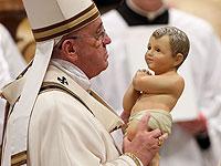 Папа Римский Франциск. Ватикан, 24 декабря 2014 года