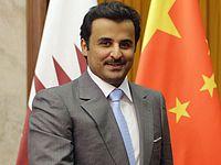 4-й (нынешний) эмир Катара шейх Тамим бин Хамад аль-Тани