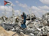 В секторе Газы сожжено отделение министерства по делам беженцев