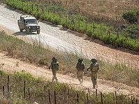 На границе с Ливаном