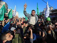 Антиегипетская демонстрация в Рафахе. 05.02.2015