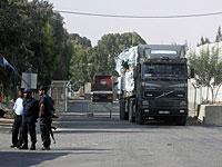 На границе с Газой задержан грузовик с бытовой техникой, внутри которой был спрятан груз для ХАМАС