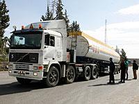Израиль поставил в сектор Газы 400.000 литров солярки