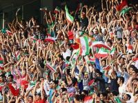 Футбольный стадион в Иране