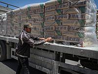 """Израиль пропустил в Газу крупнейший после """"Нерушимой скалы"""" груз стройматериалов"""