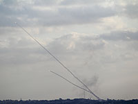 Ракетный обстрел южных районов Израиля