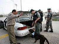 В Эйлате задержана жительница Шхема, прятавшаяся в автомобиле   (иллюстрация)
