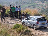 Машина жертв теракта. В районе Долева, 19.06.2015