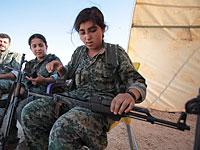 Курды на сирийско-турецкой границе. 20 июня 2015 года