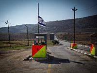 Армейский блокпост в Иорданской долине