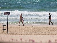 В районе Ашдода ведутся поиски юноши, пропавшего в море