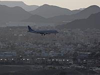 Аэропорт Эйлата закрыт в связи с погодными условиями