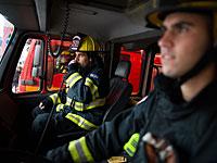 Пожар в Раанане, погиб мужчина
