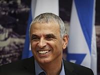 Министр финансов Моше Кахлон