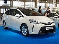 В Израиле стартовали продажи обновленного гибридного универсала Toyota Prius+