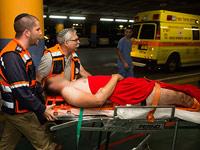 Пострадавшие в результате теракта около Швут-Рахель