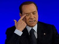 Сильвио  Берлускони осужден на 3 года за подкуп сенаторов