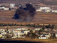 На сирийско-израильской границе в районе Кунейтры