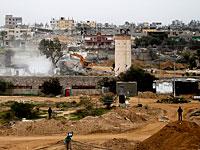 На границе Египта и сектора Газы